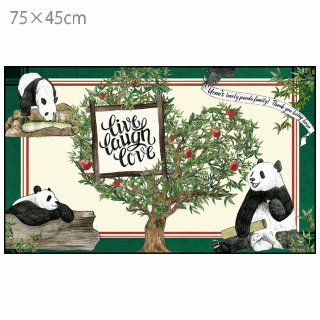 ◆受注生産◆「tree of xiang xiang」柄 ラグマット(75×45㎝サイズ)