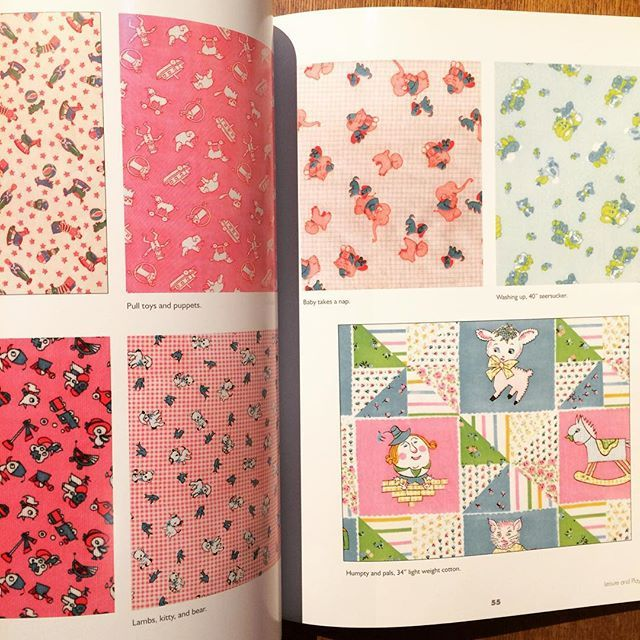 コレクションブック「Vintage Children's Fabrics」 - 画像3