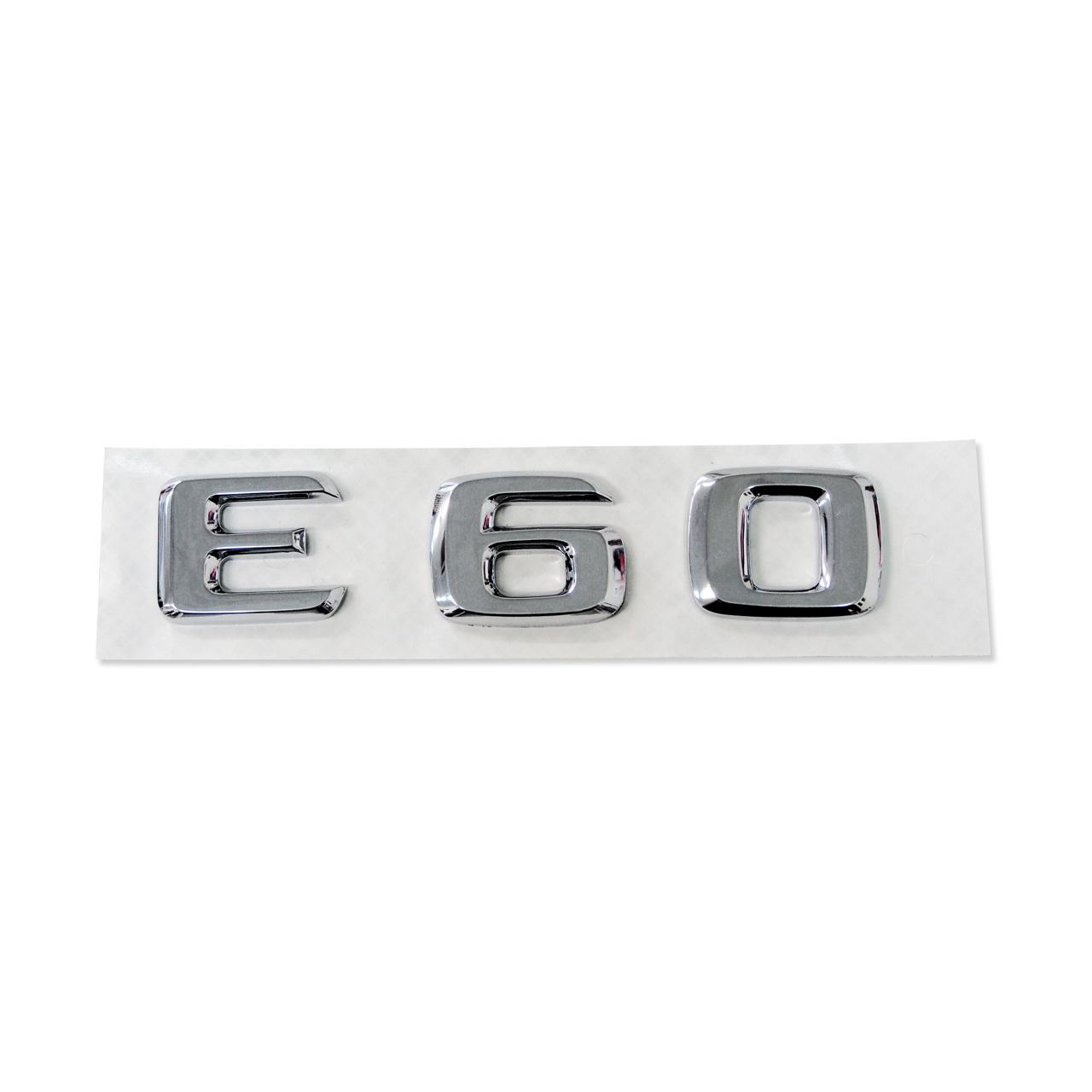 E60 リアエンブレム /トランクエンブレム
