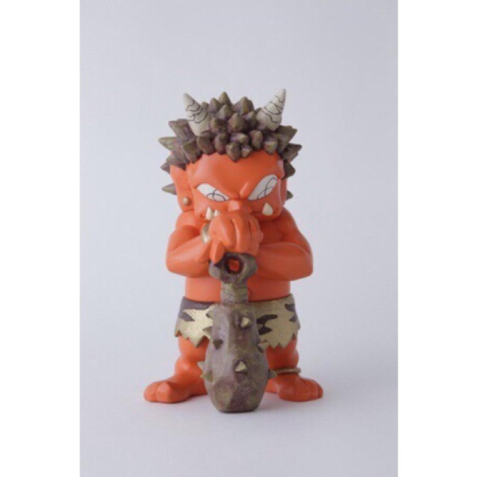 瀧下和之 鬼フィギュア 橙鬼