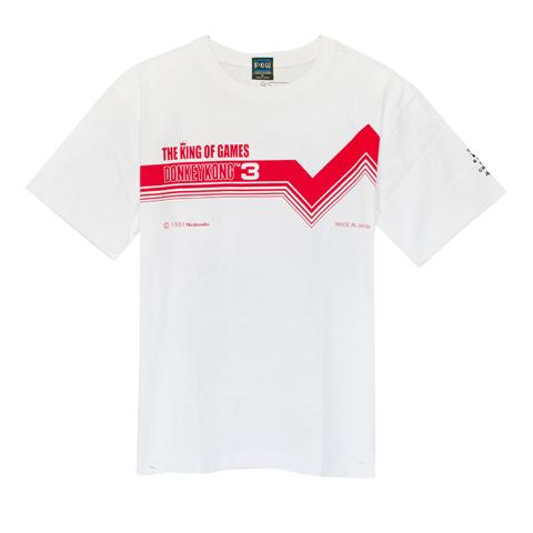 ドンキーコング3 ラインTシャツ/ THE KING OF GAMES