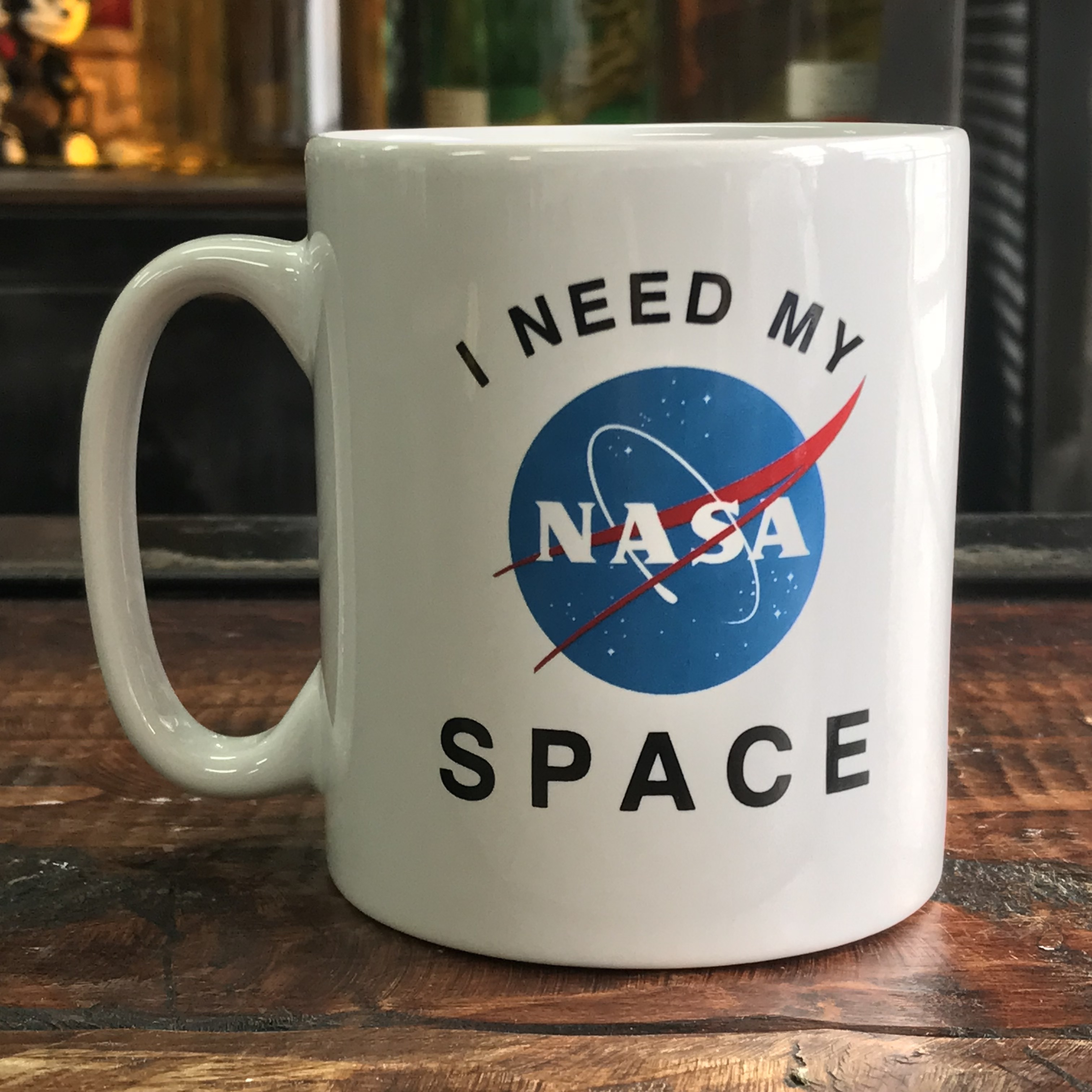 NASA公認(アメリカ航空宇宙局)マグカップ・インサイニア(ミートボール)
