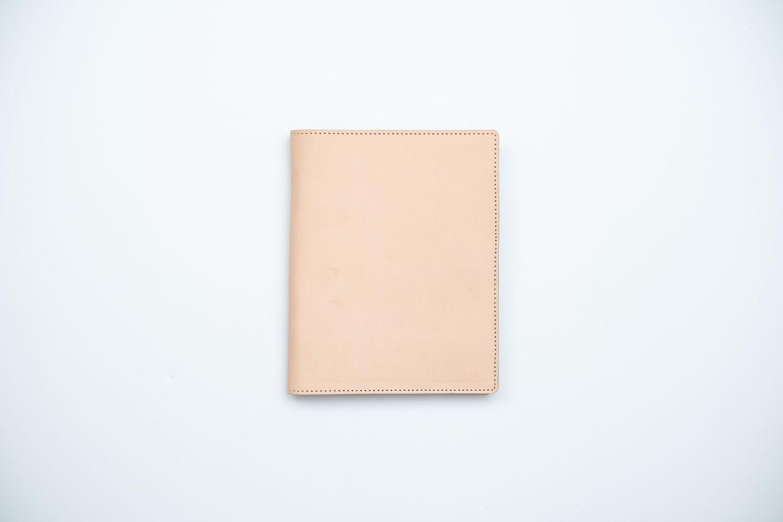 【トバログコラボ】レザーパスポートケース - ナチュラル