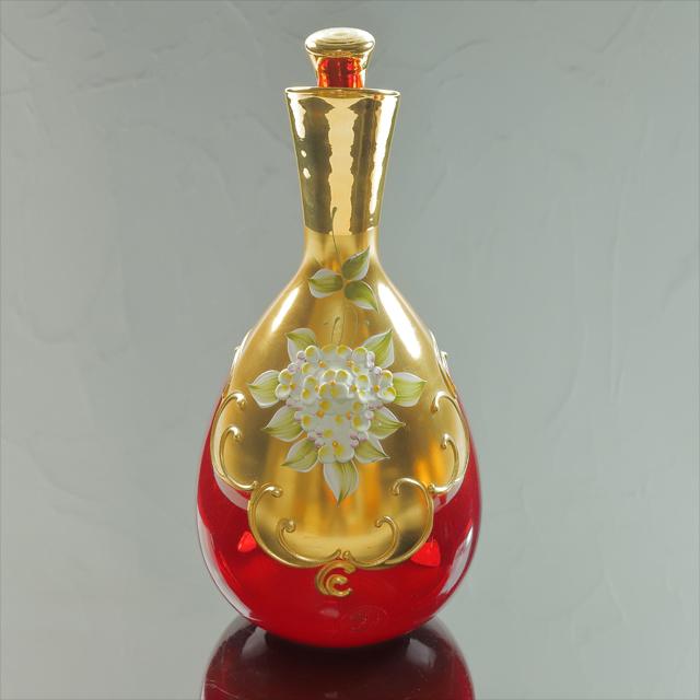 ベネチアンガラス デキャンタ