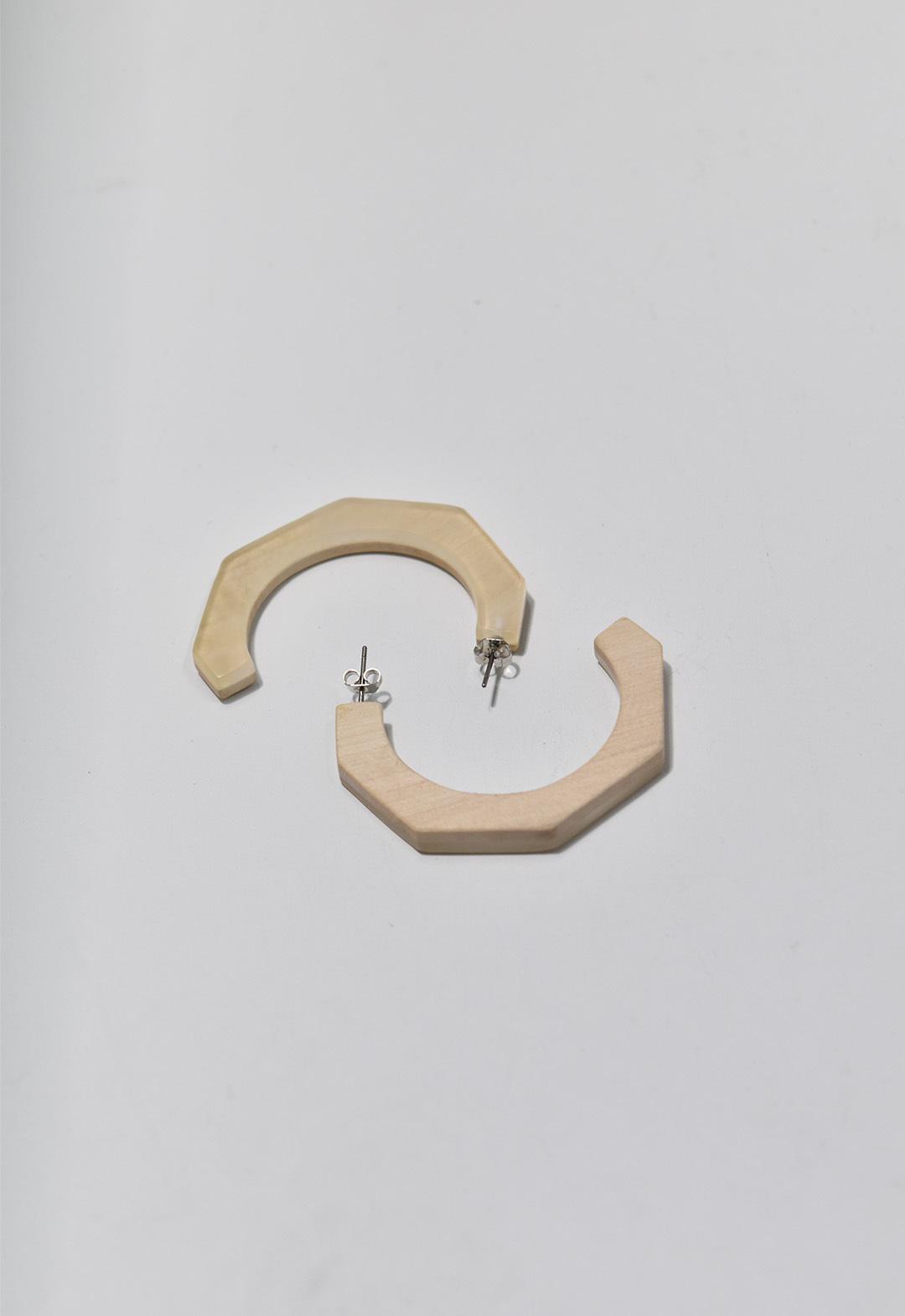 echical wood reversible pierce Clear