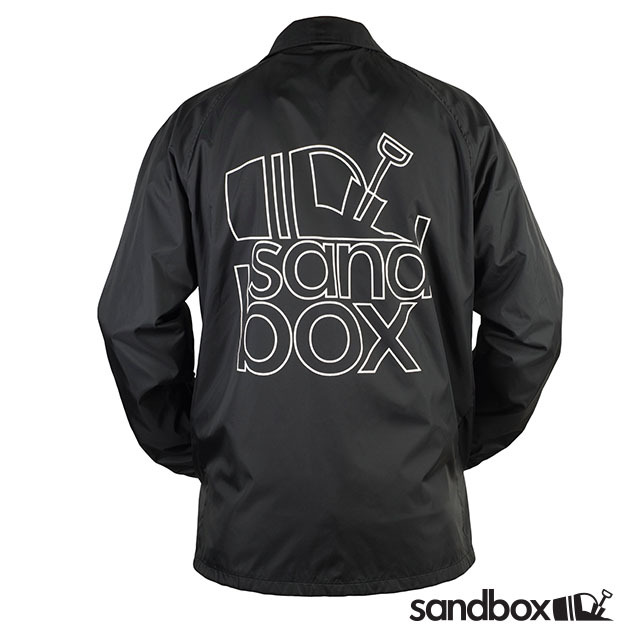 SANDBOX - TEAM COACH'S JACKET - BLACK