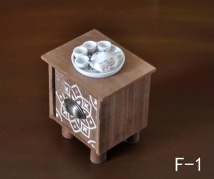 ニューボーンフォト用サイドテーブル&ティーポットセット