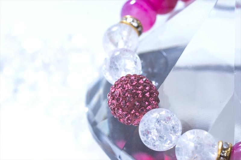 Pinky Onyx【パワーストーンブレスレット 】 - 画像3