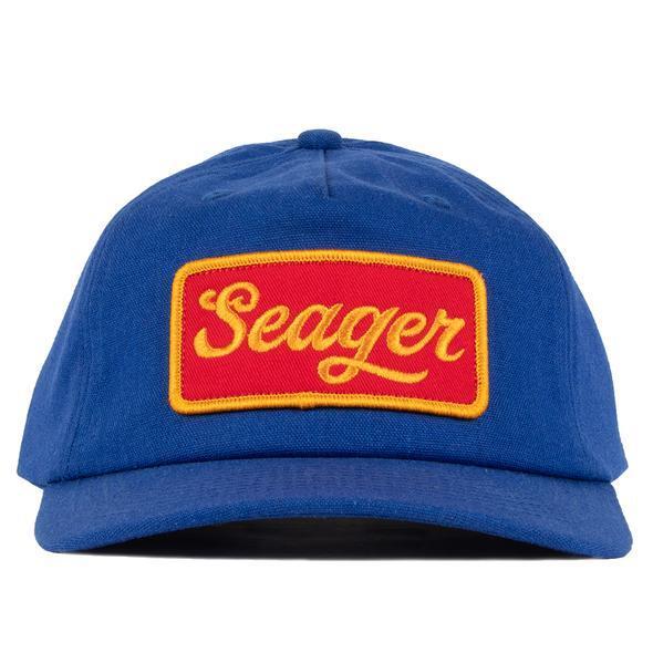 SEAGER #Bill Hemp Snapback Blue