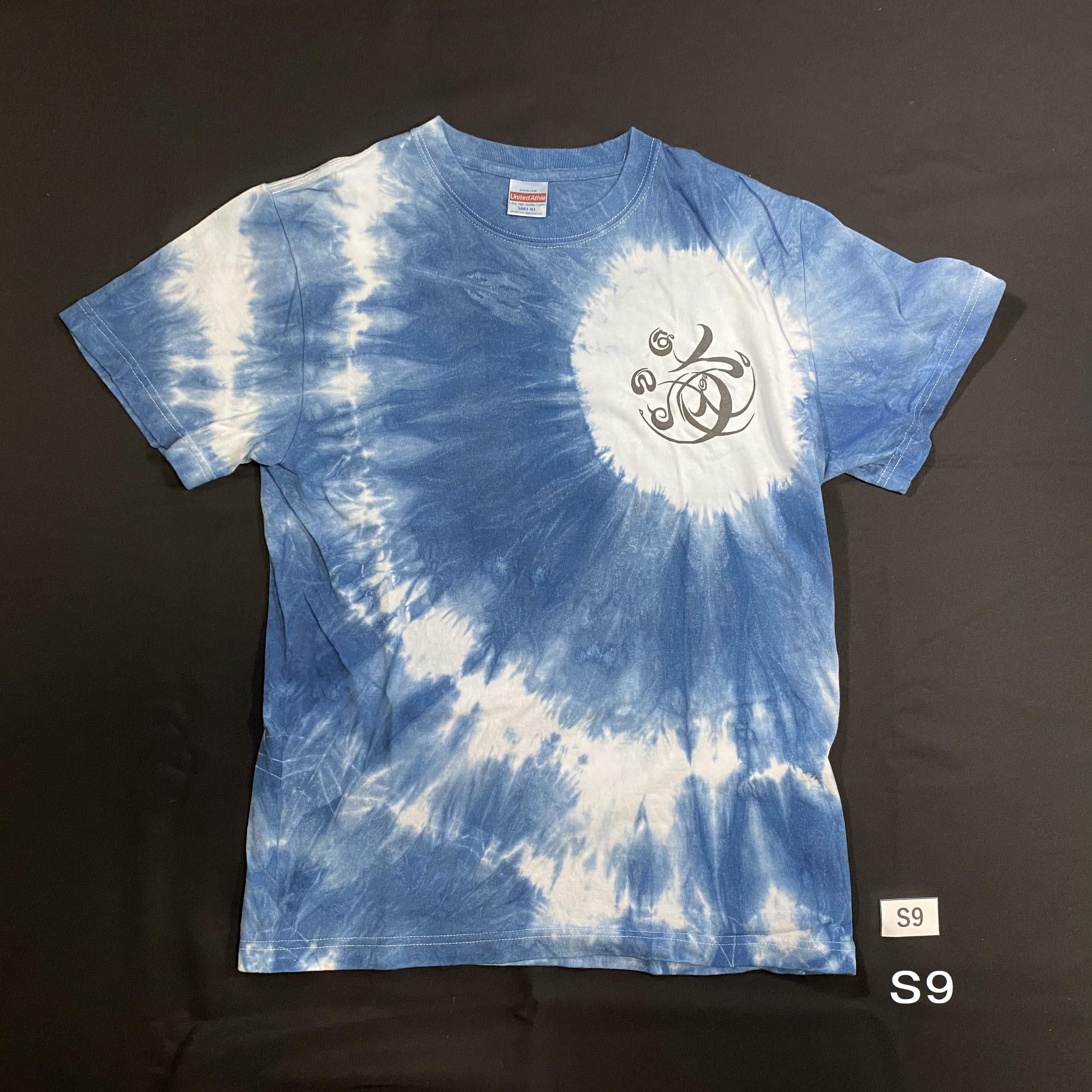 こころMoji×藍染Tシャツ(S9)