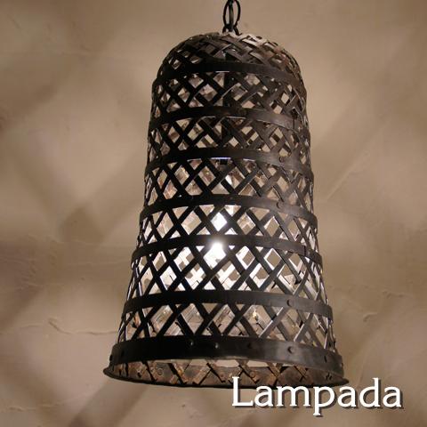 限定品:IDP653 インド鉄編みペンダント