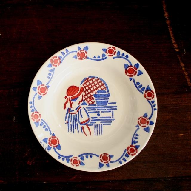 赤ずきん・ままごとスープ皿 / aa0023