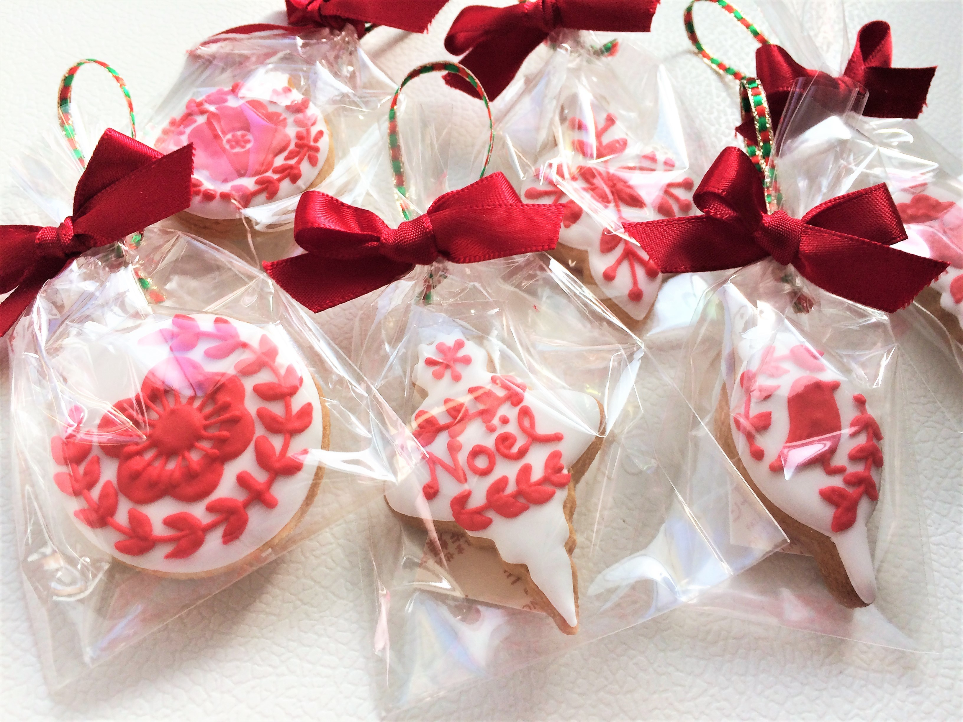 クリスマスミニオーナメント☆アイシングクッキーセット