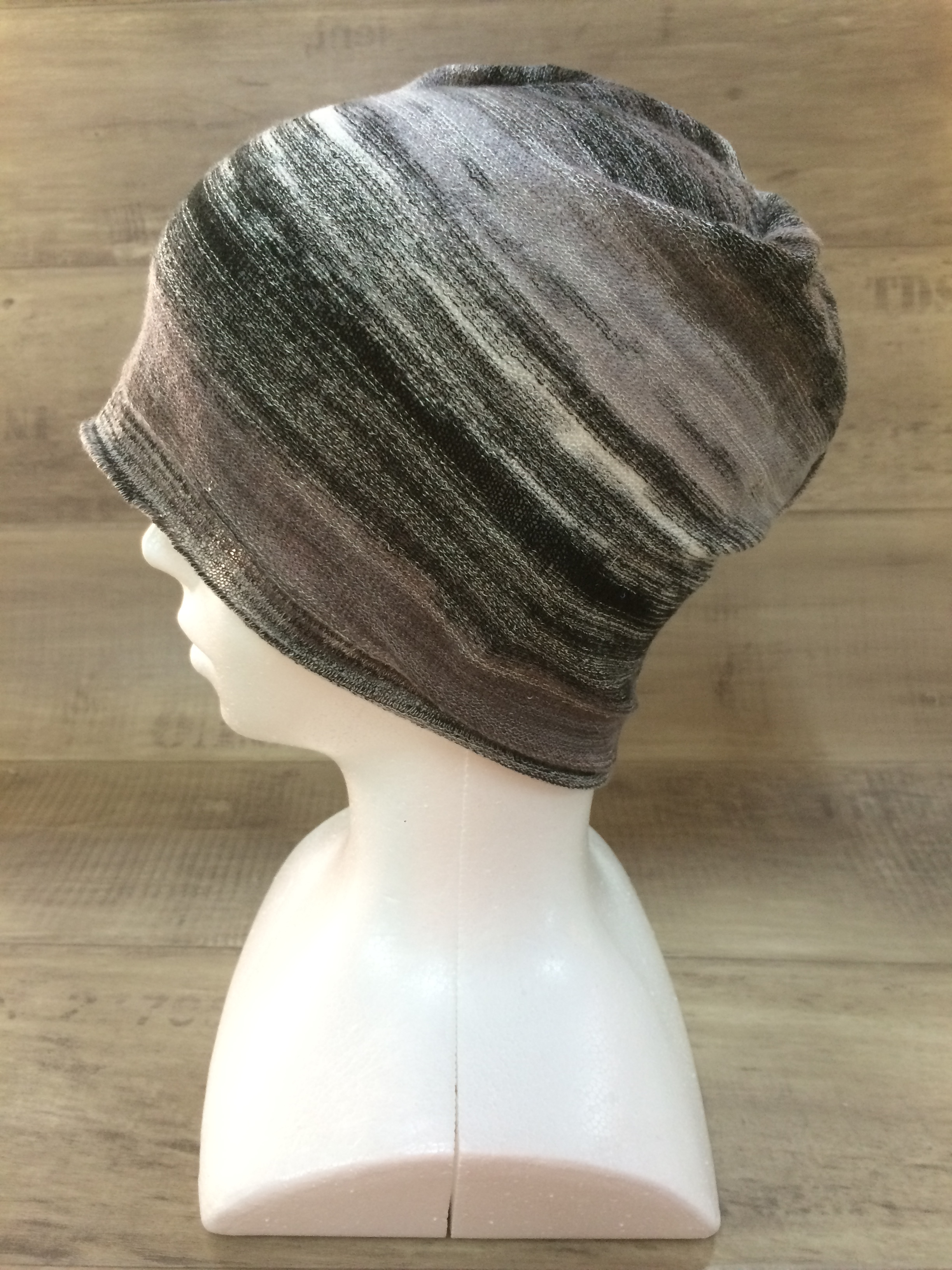 【送料無料】こころが軽くなるニット帽子amuamu|新潟の老舗ニットメーカーが考案した抗がん治療中の脱毛ストレスを軽減する機能性と豊富なデザイン NB-6059|霜天(そうてん)