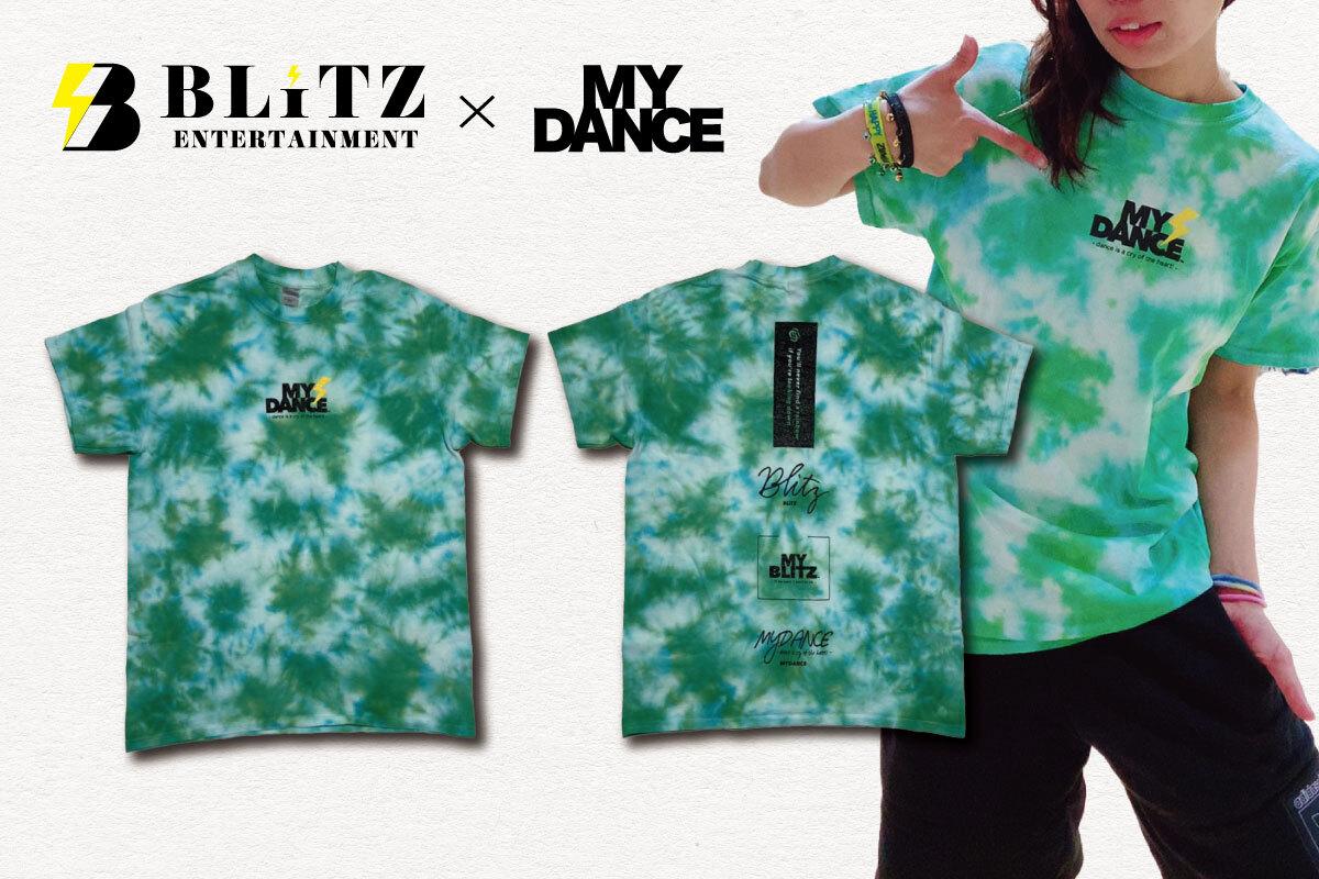 MYDANCE × BLITZ tee Green