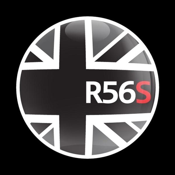 ゴーバッジ(ドーム)(CD0156 - FLAG BLACKJACK R56S) - 画像1