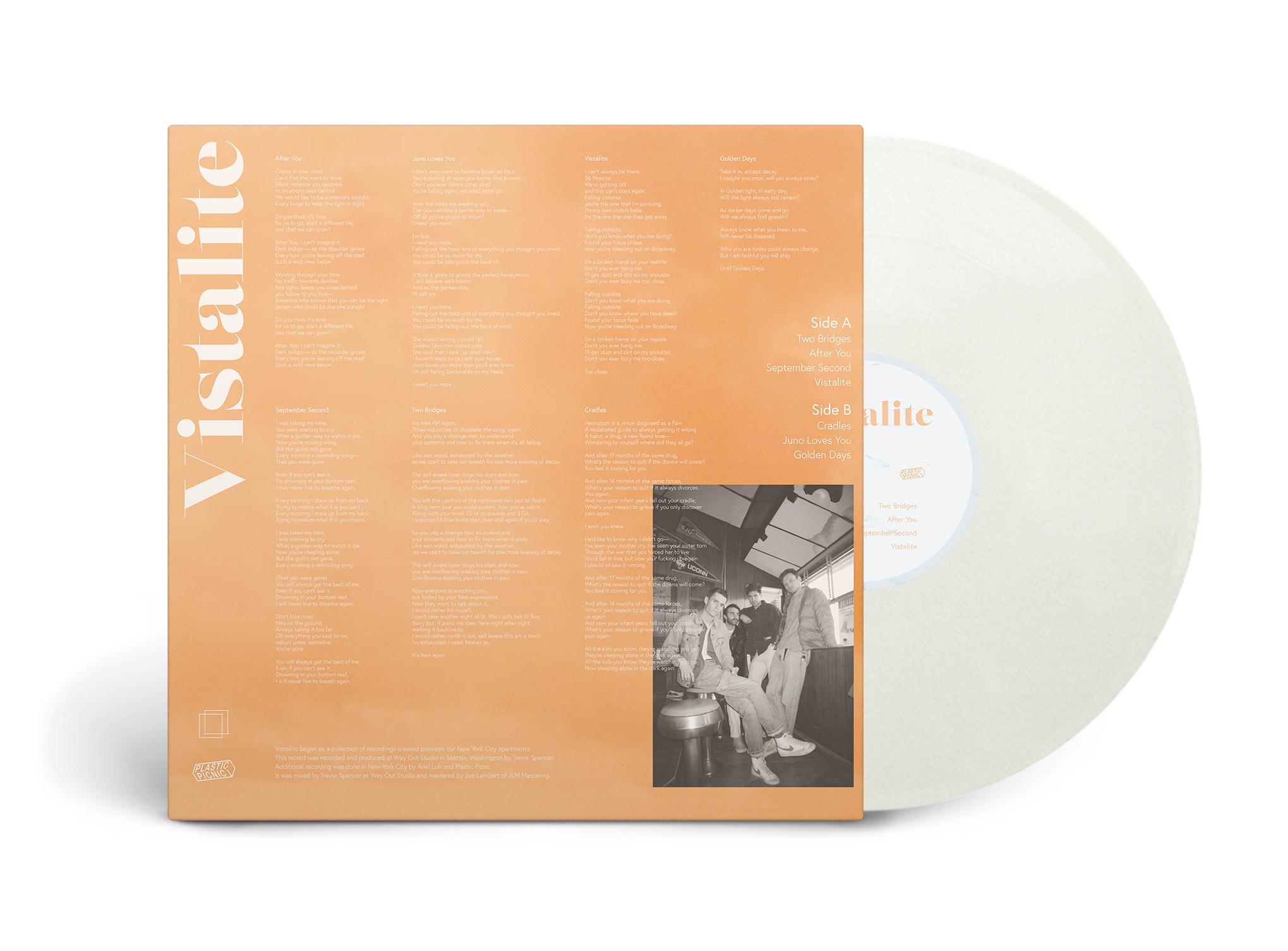 Plastic Picnic / Vistalite(Ltd 12inch EP)