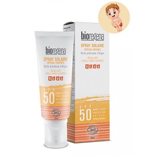 【bioregena/ビオレジェナ】スプレーソレイユキッズSPF50 90ml