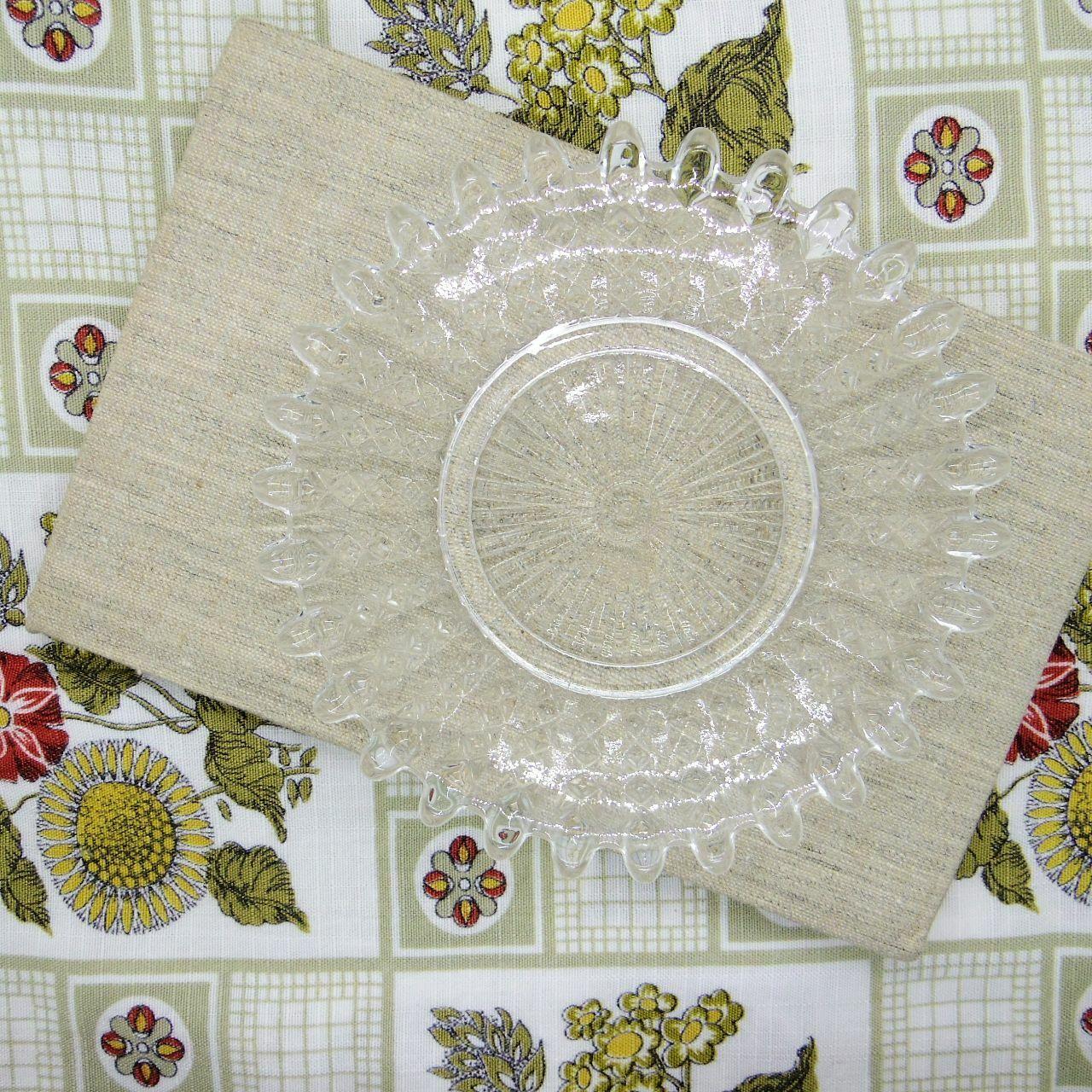 ガラスの小皿③