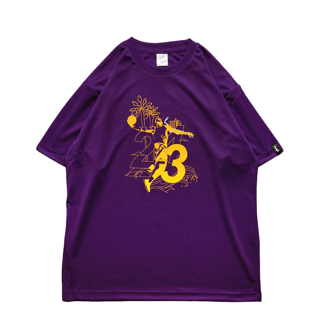 Los Angeles S/S PL <Purple×G.Yellow×White> - 画像1