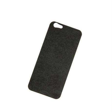 iPhone 6/6s バックプレート アルカンターラ ブラック
