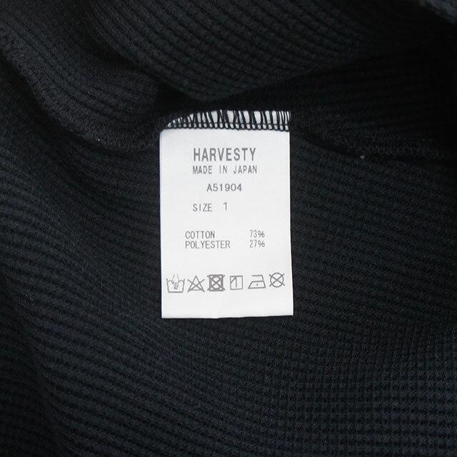 HARVESTY ハーベスティ ワッフル半袖プルオーバー 正規取扱店 レディース Tシャツ サーマル 無地 通販 SALE セール 【返品交換不可】 (品番a51904)