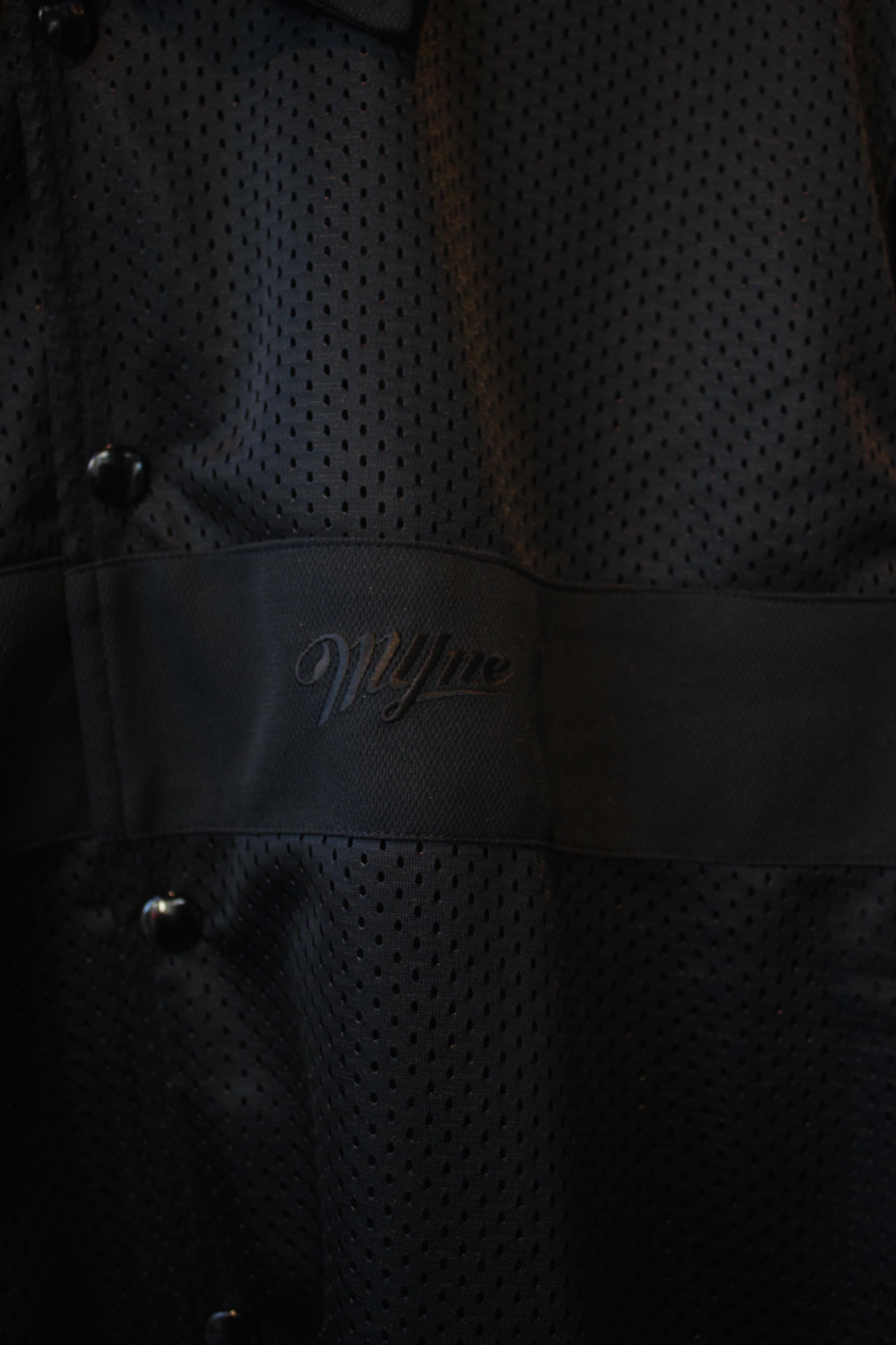 【50%OFF】mesh sports jacket / BLACK - 画像2