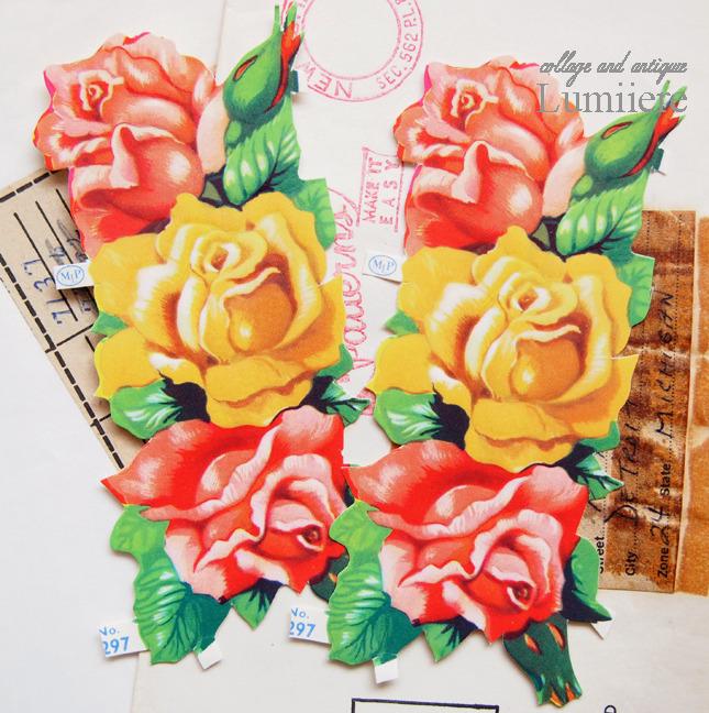 rose chromos set