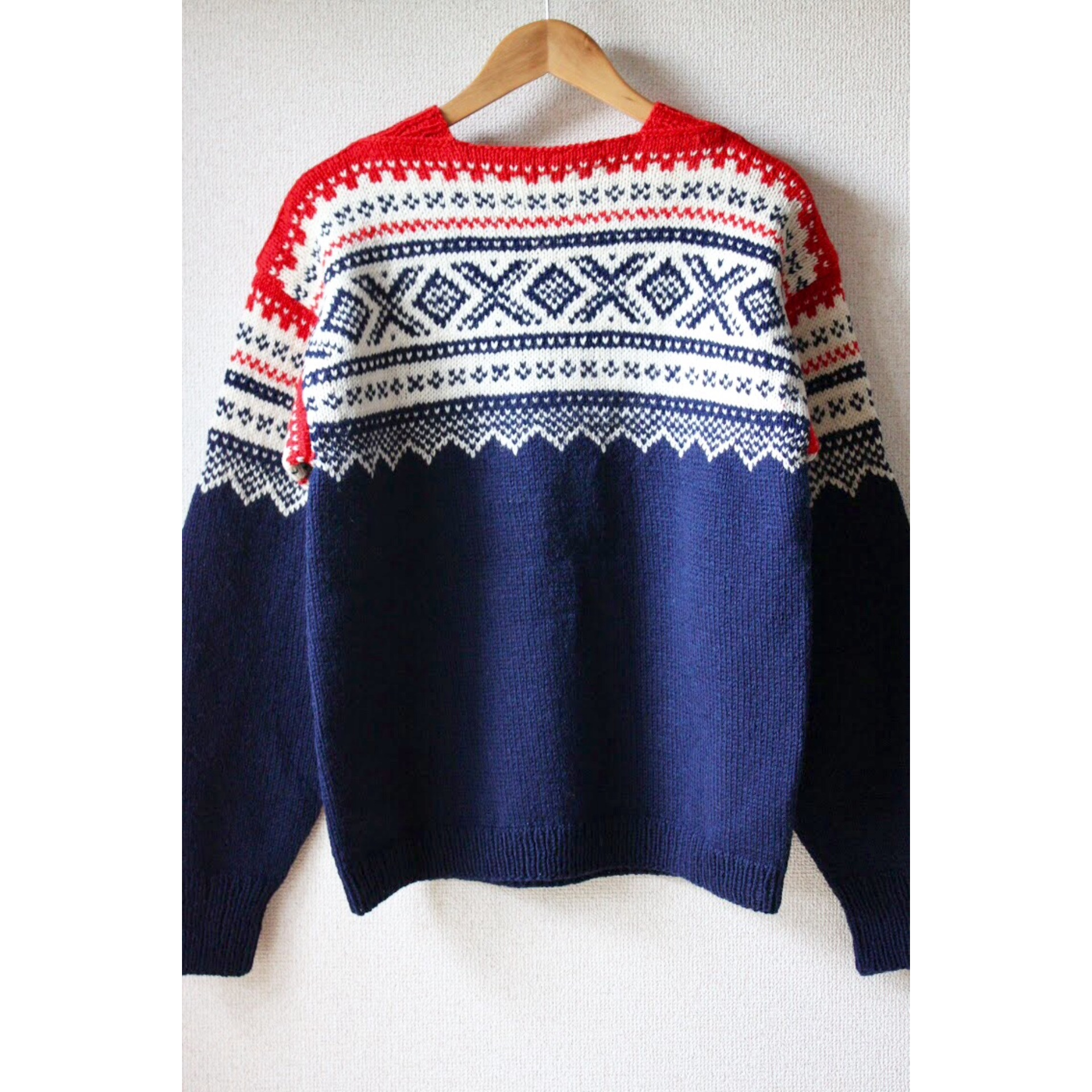 Vintage nordic sweater