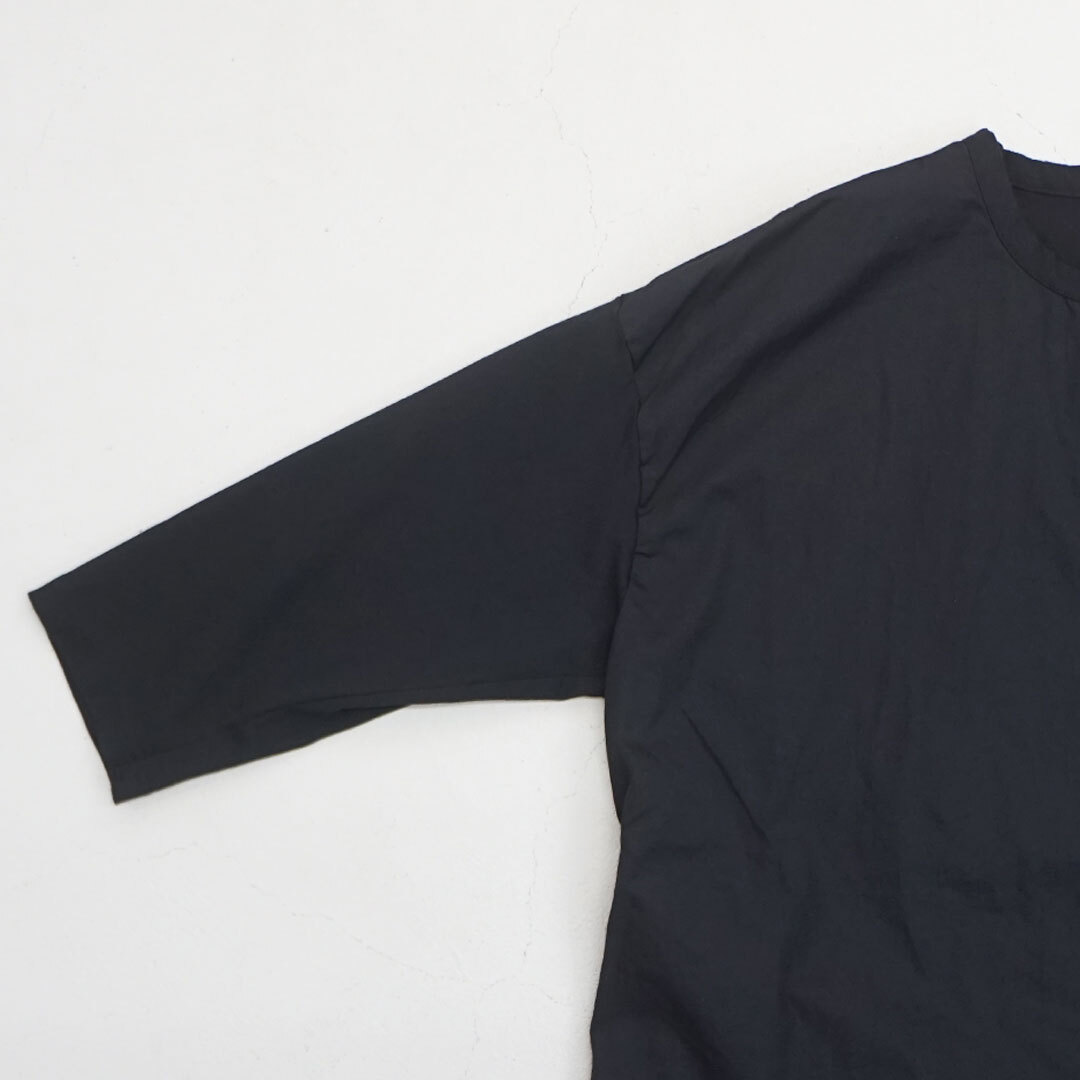 【再入荷なし】 prit プリット 天竺×ブロード7分袖ワンピース (品番p91052)