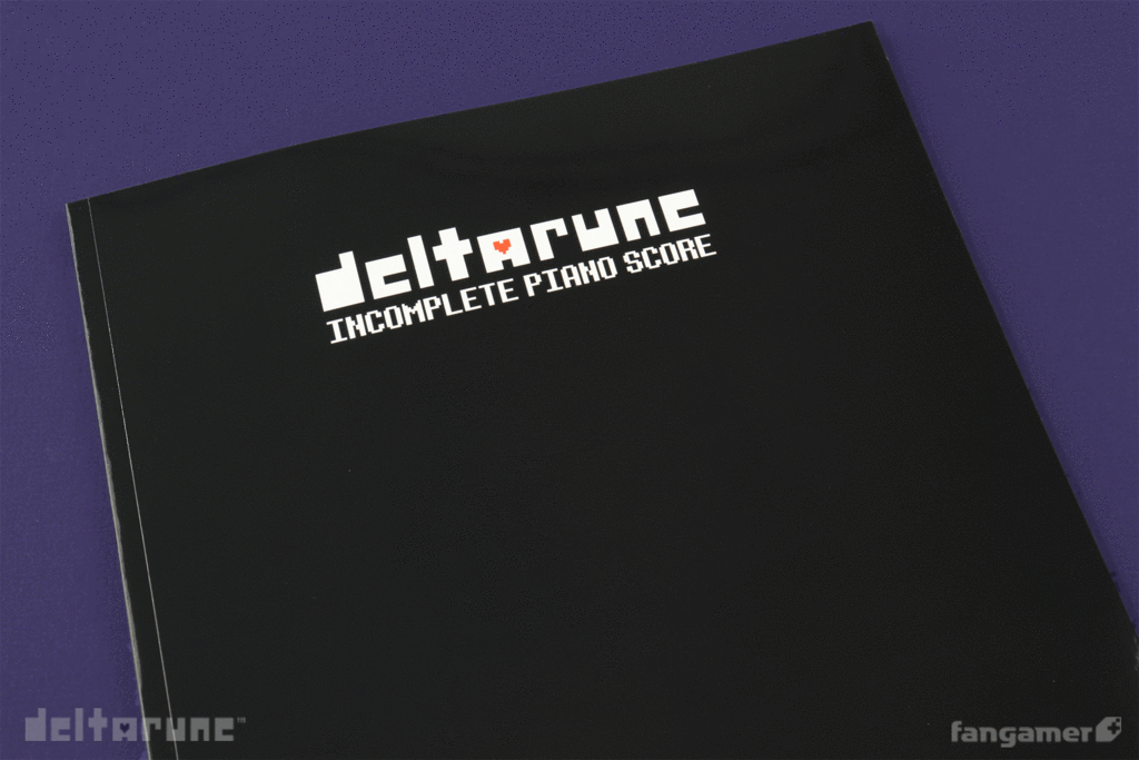 コンプリートじゃないピアノスコア / DELTARUNE