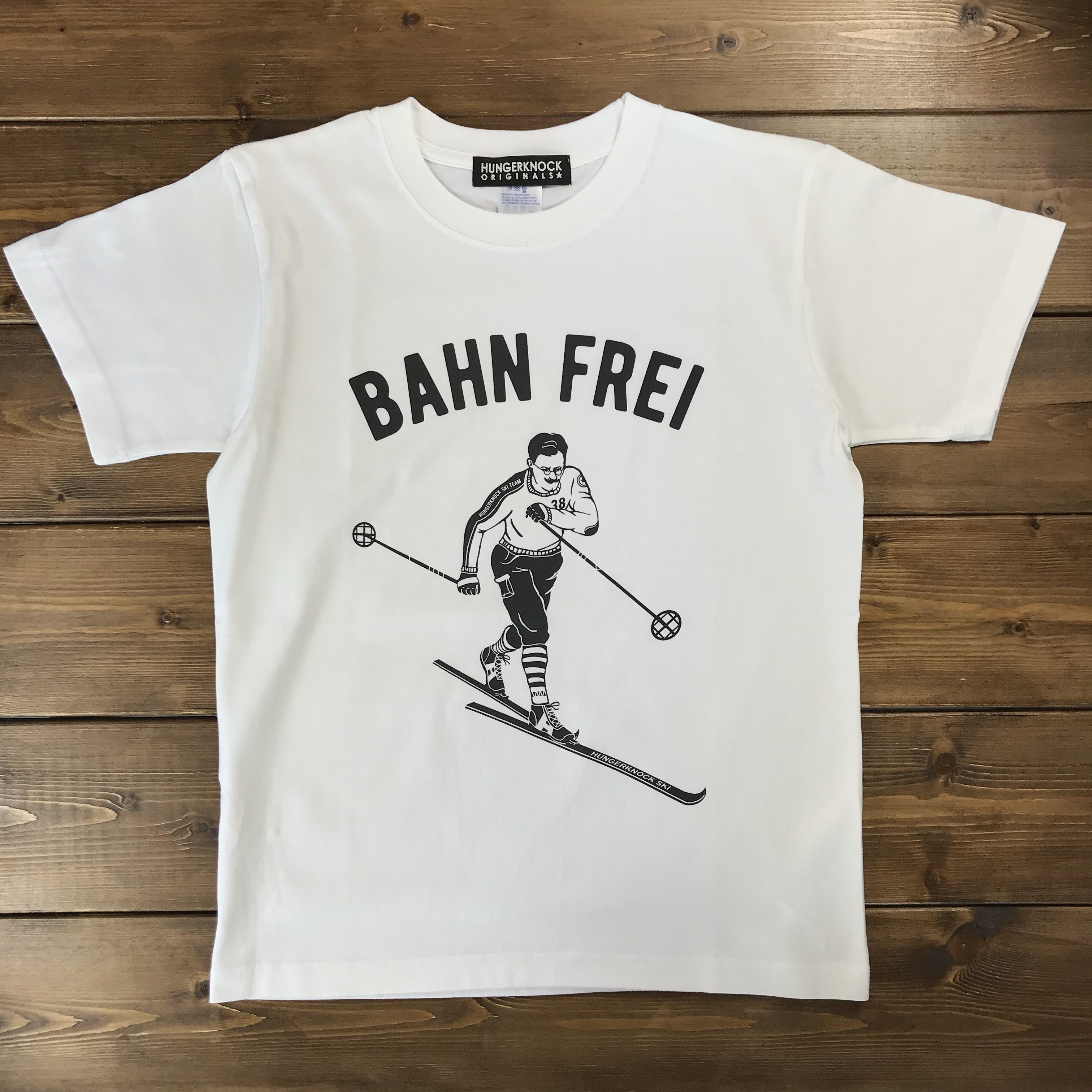 BAHN FREI Tee / white