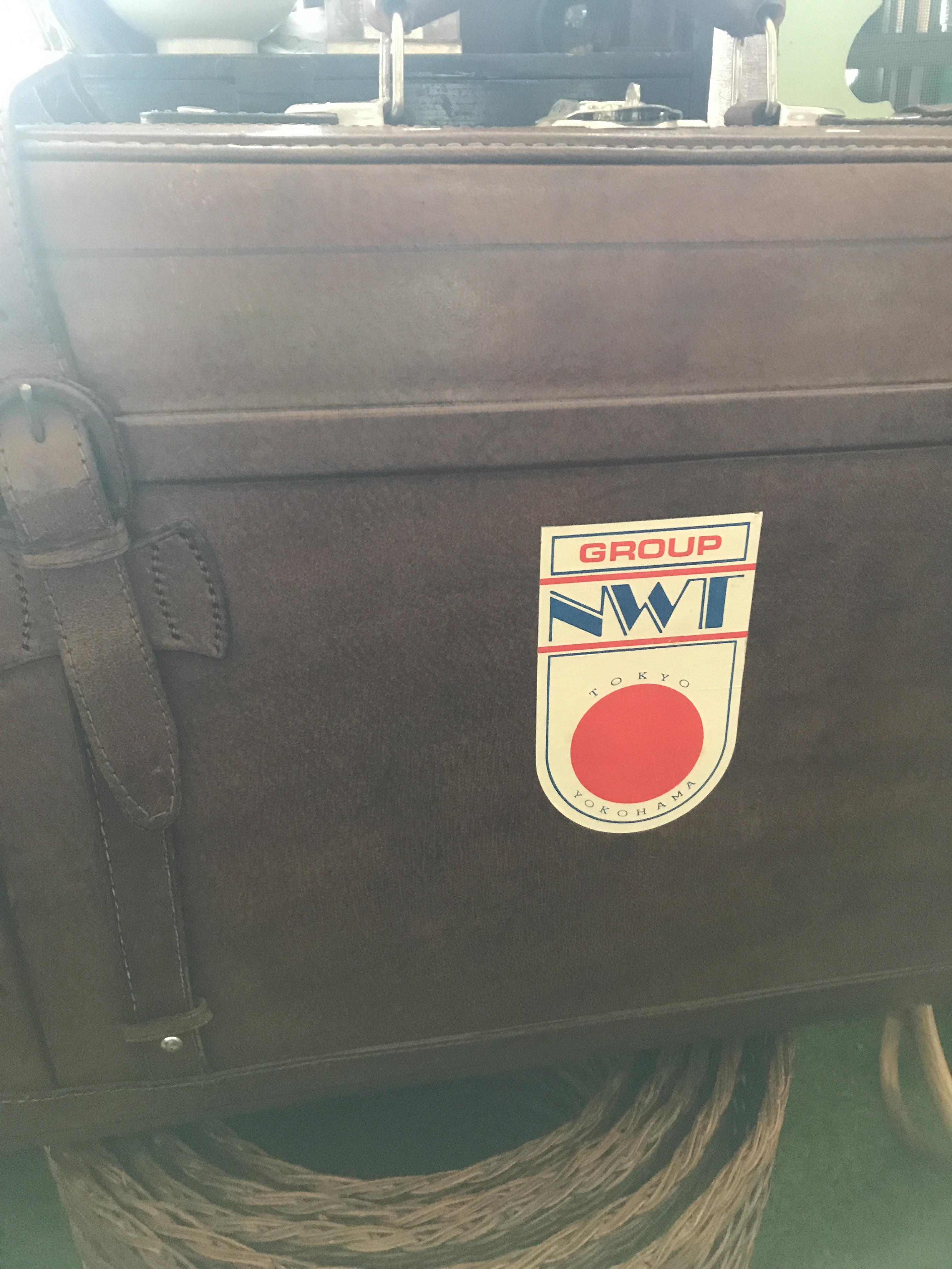 レトロ 大きめのトランク