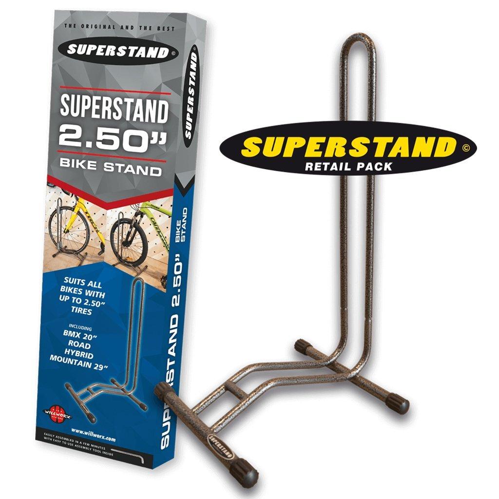"WILLWORX SUPERSTAND 2.5"" バイクスタンド"