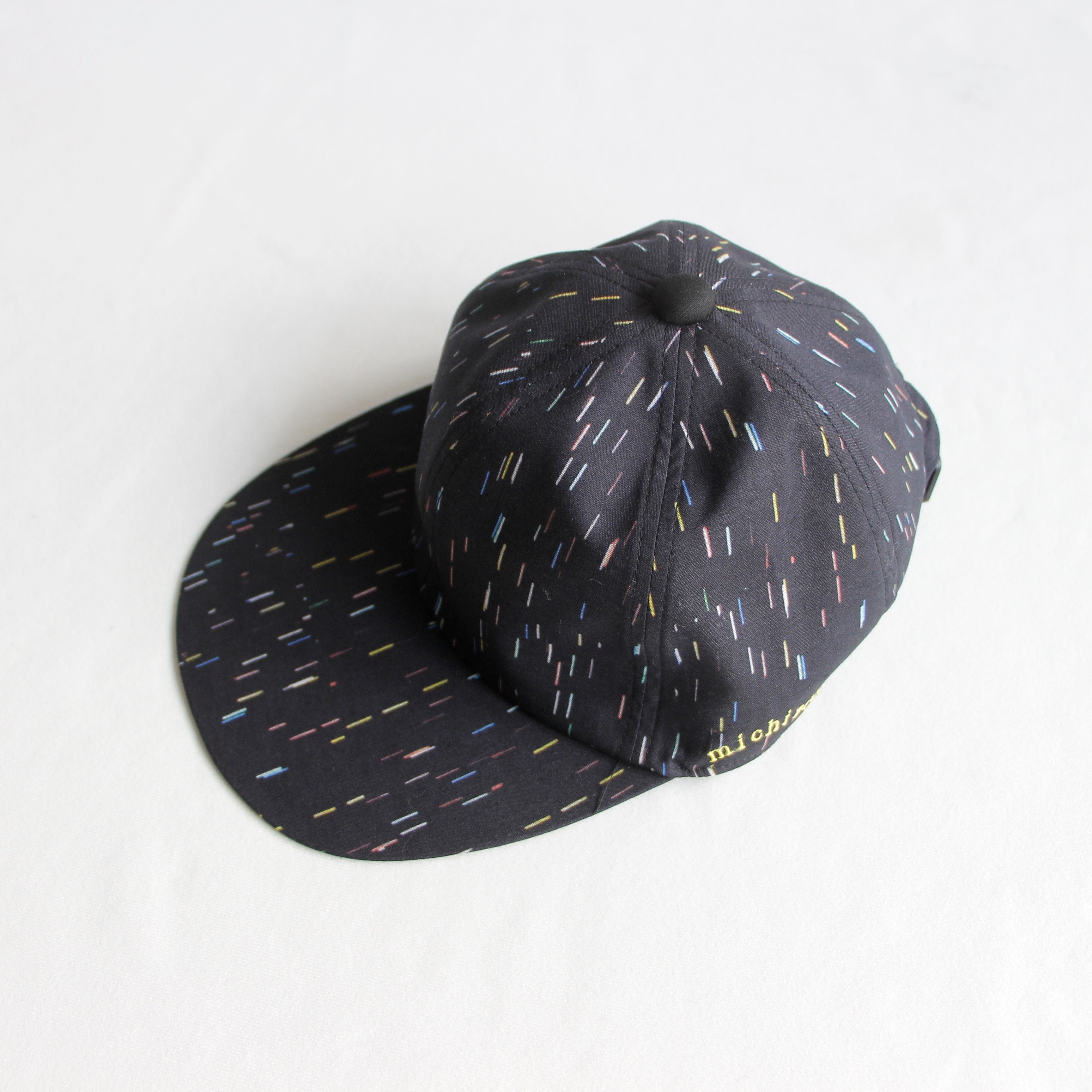 《michirico 2020SS》michirico CAP / black / F