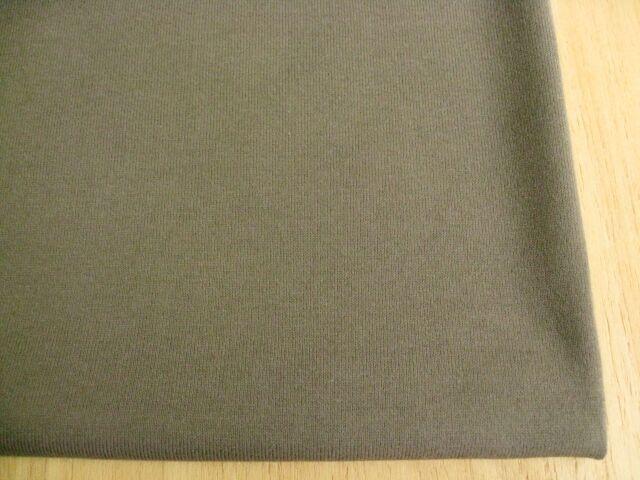 J&B定番綿コーマ糸40双糸天竺ニット モールブラウン NTM-2634