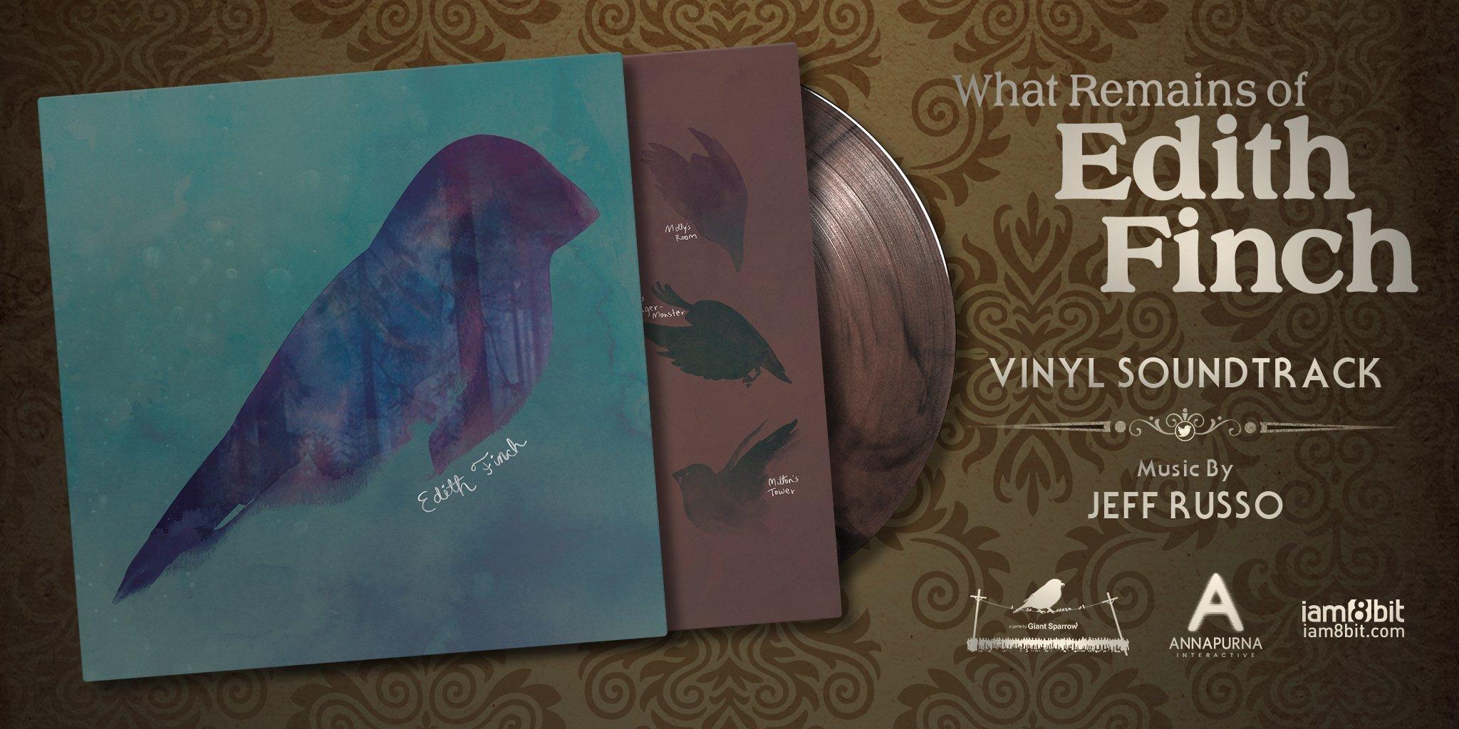What Remains of Edith Finch Collection / フィンチ家の奇妙な屋敷でおきたこと オリジナルゲームサウンドトラック アナログレコード - 画像4