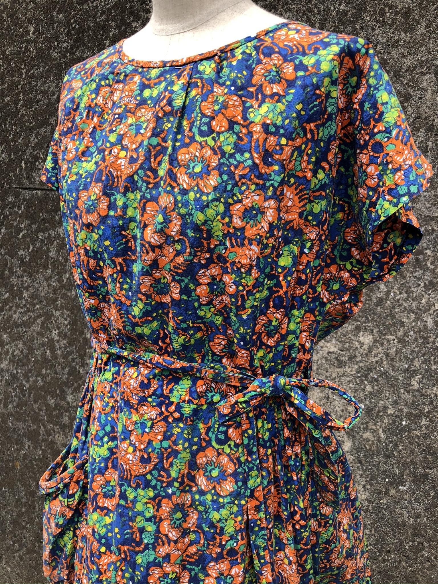 cotton lap dress