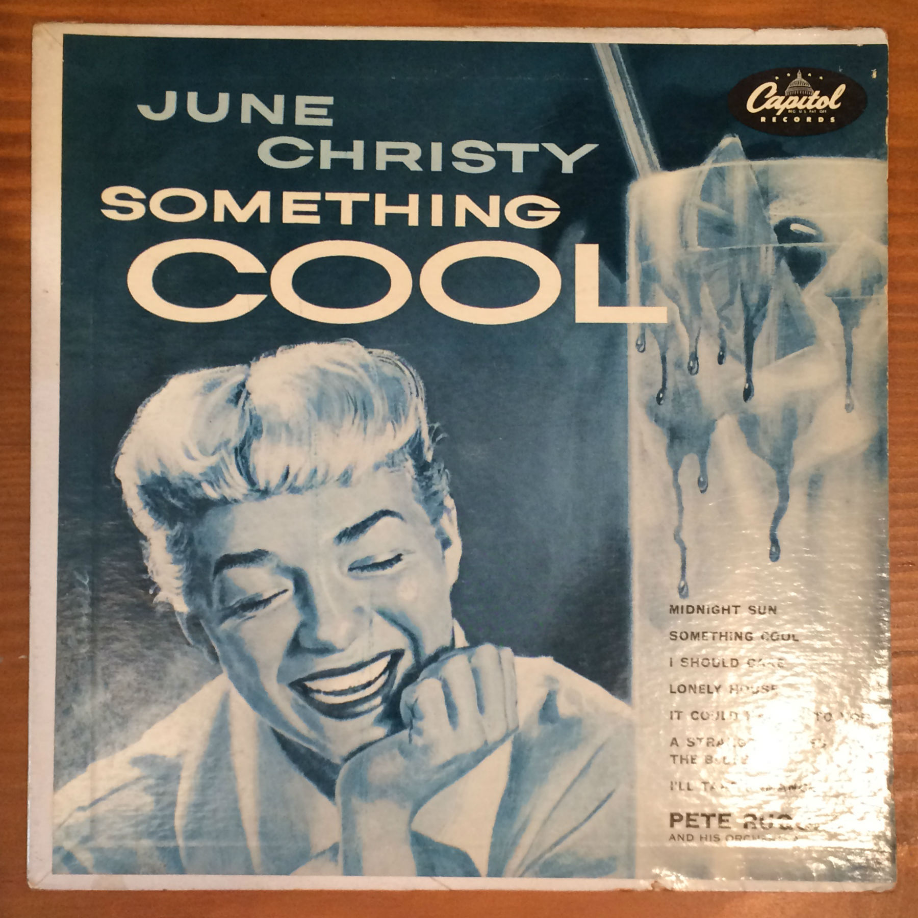 "●JUNE CHRISTY / SOMETHING COOL (10"")"