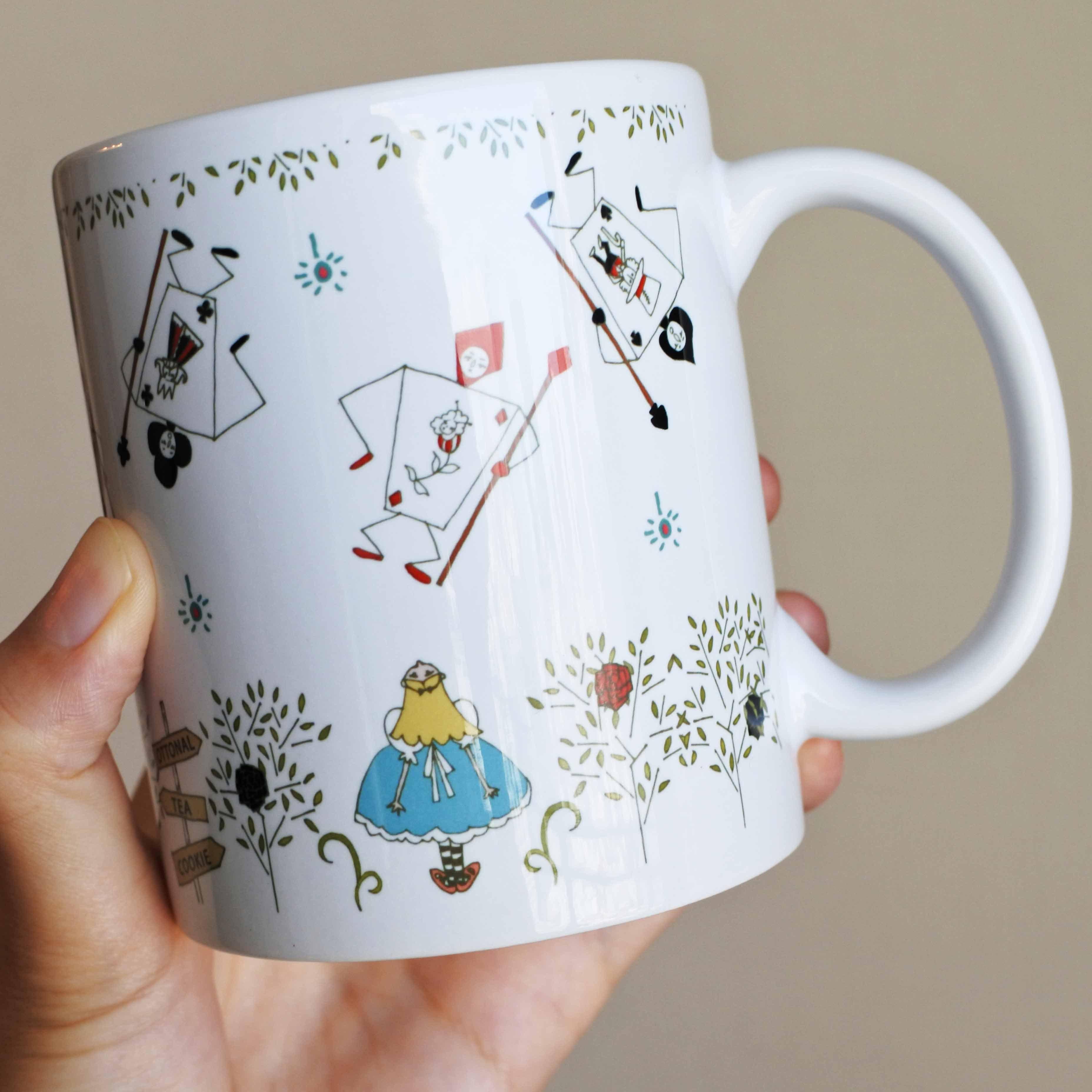 アリス マグカップ - 画像1