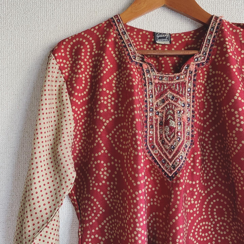 【SALE】vintage ethnic onepiece
