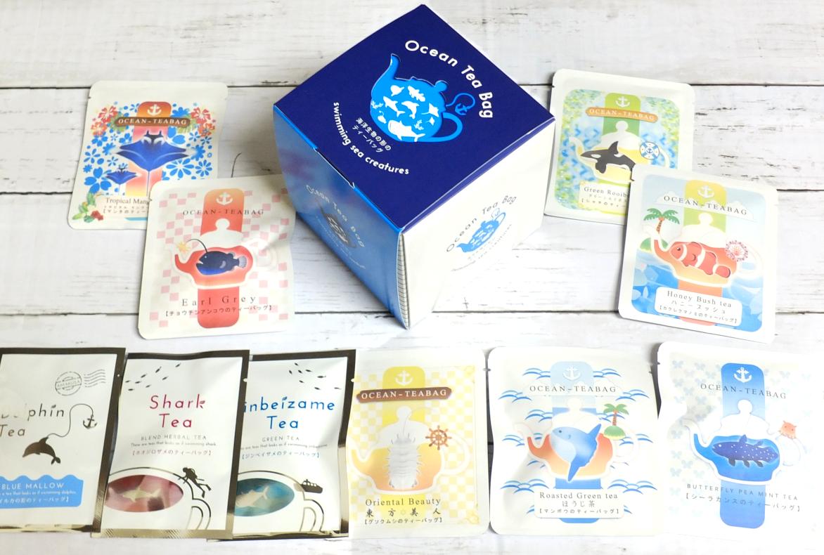 ocean-teabag 海の10種類セット