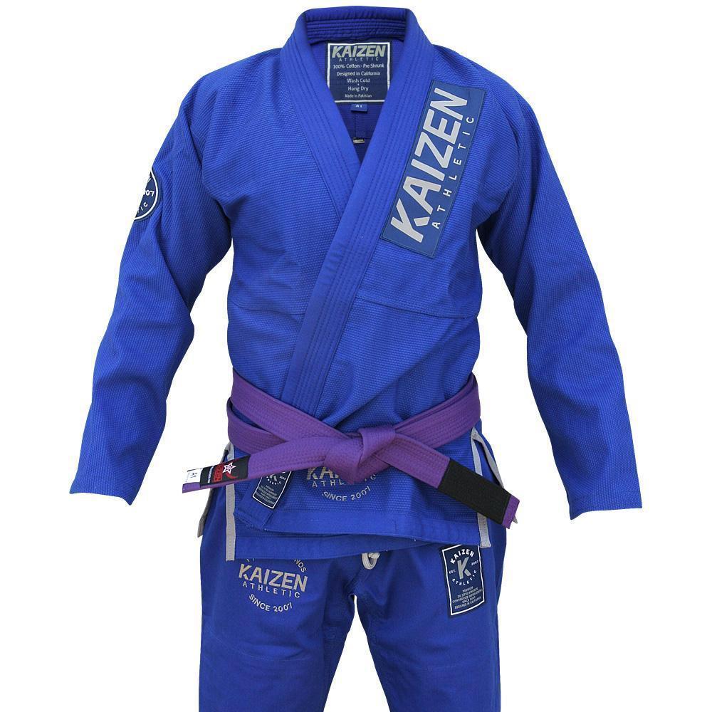 Kaizen Athletic Competitor BJJ Kimono - BLUE 青|ブラジリアン柔術道衣