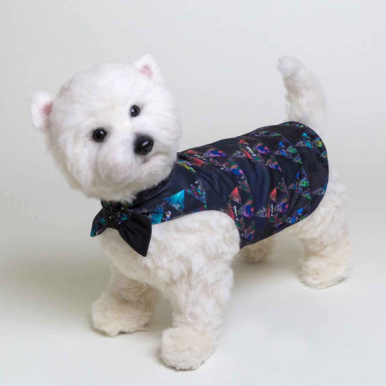 jibun-fuku DOG 【チューブドレスbeads】DOGB201806