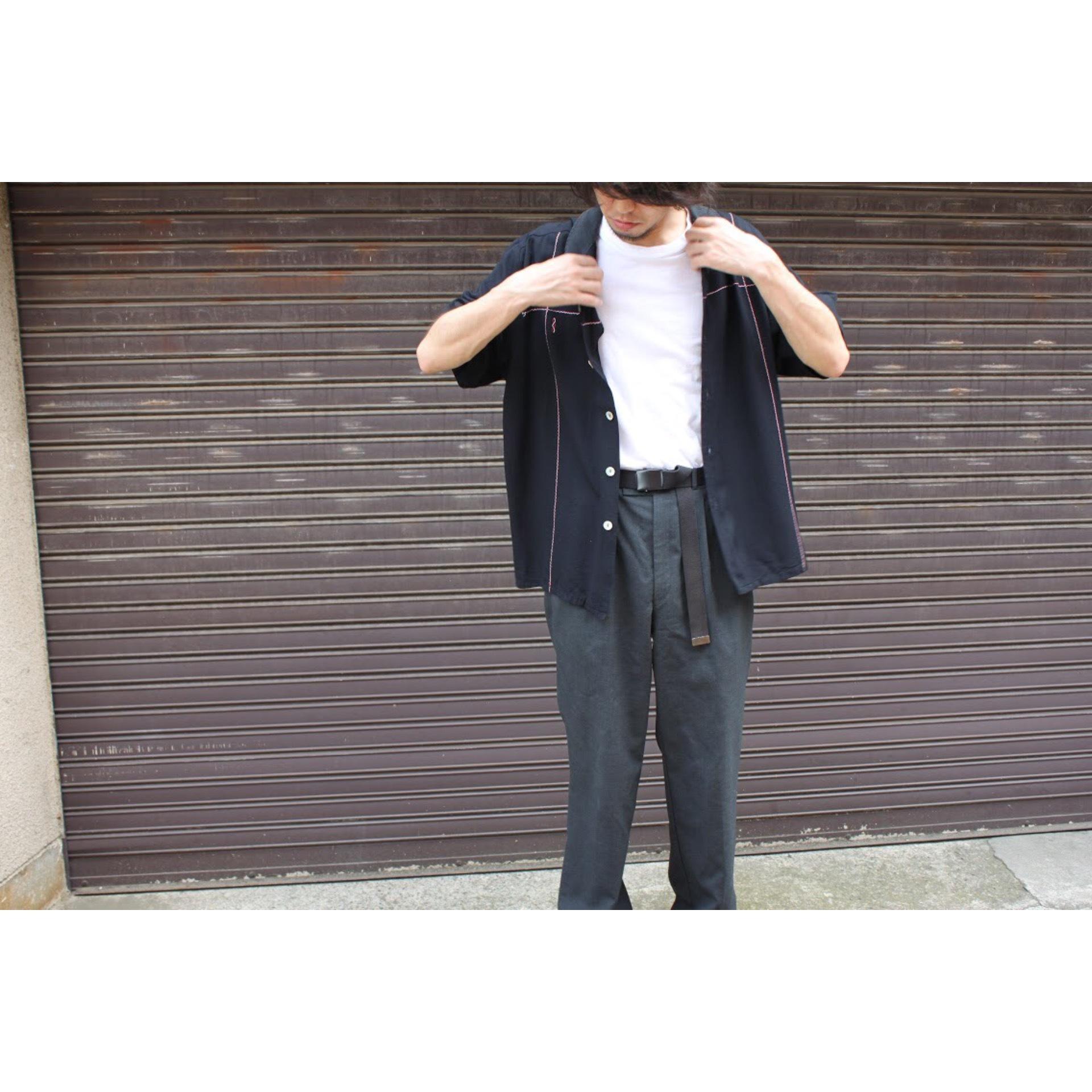 Vintage open collar shirt