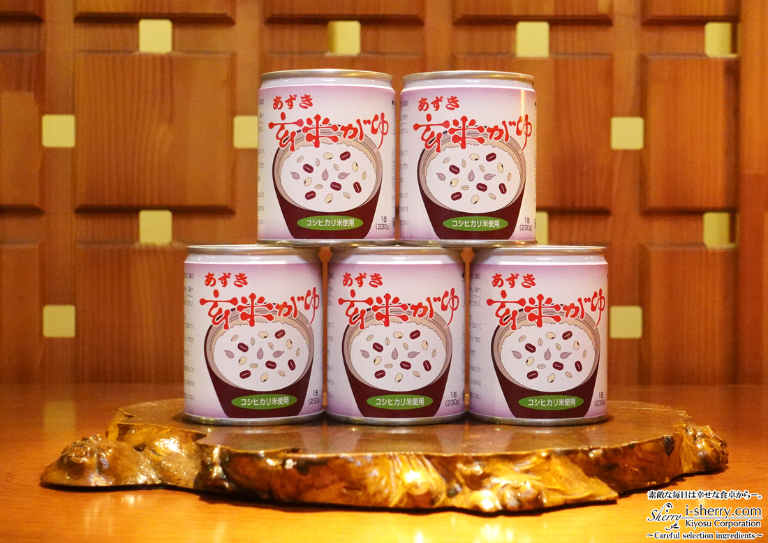 【健康食品】あずき玄米がゆ~5缶セット