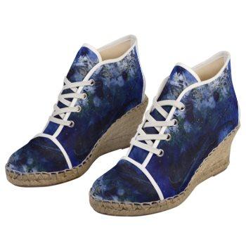【受注生産】紐靴エスパドリーユ「海の底で見る夢」