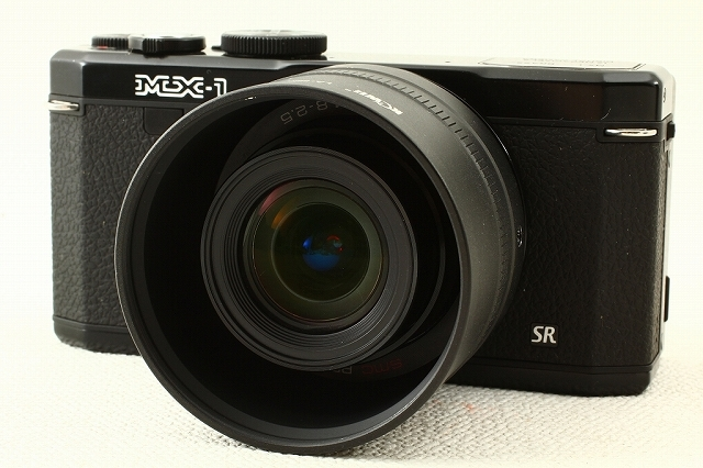 PENTAXペンタックス MX-1 クラシックブラック 美品ランク/9544