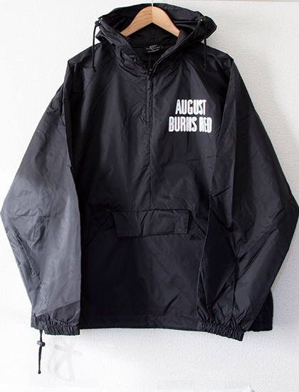 【AUGUST BURNS RED】Flag Windbreaker (Black)