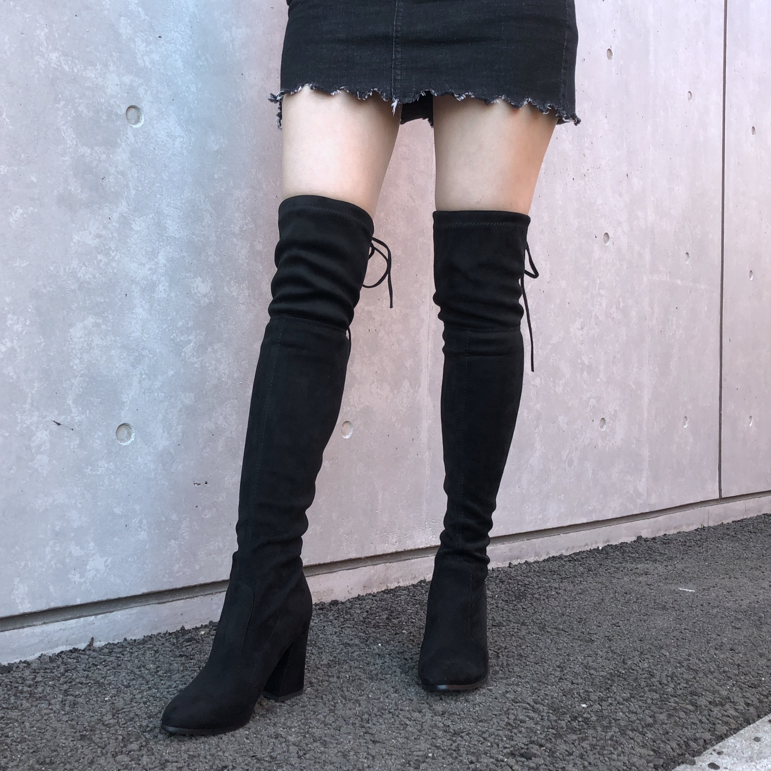 Knee high boots(22〜26.5cm)